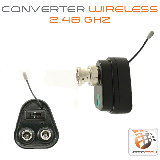 Convertitore wireless adattatore video bnc 2,4Ghz