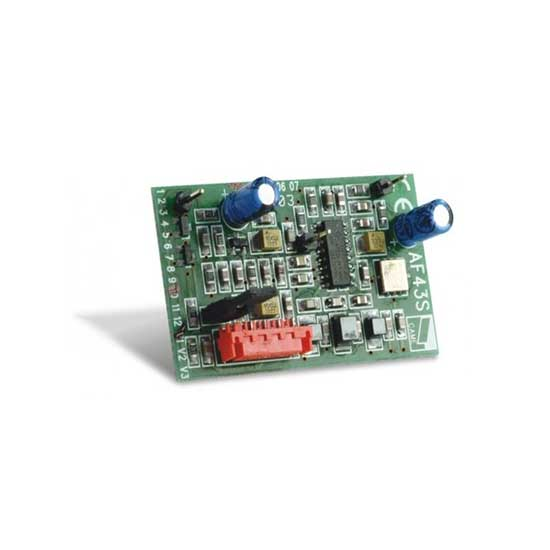 Carte Radio embrochable en 433,92Mhz CAME AF43S