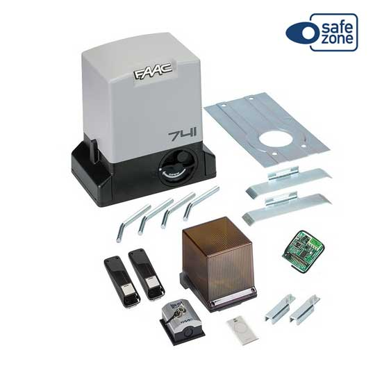 FAAC DELTA3 KIT automation for sliding 900KG 230V SAFE