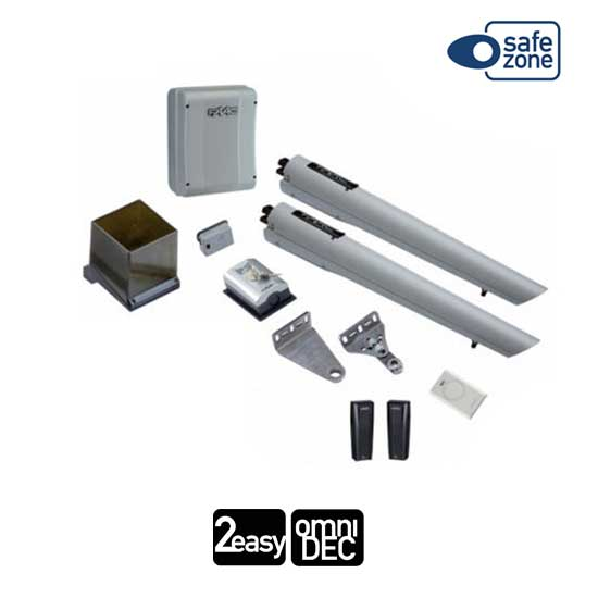 FAAC HANDY KIT automation for swing-leaf gates 2,3M 24V SAFE