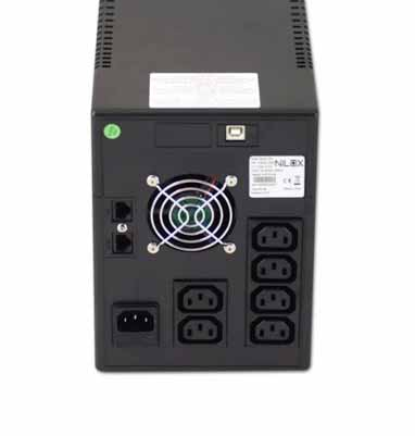 NILOX UPS V.I. WORKSTATION 2800 - 2800VA/1600W