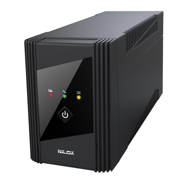 NILOX UPS Line Interactive VALUE AVR 800VA/400W - 17NXGCLI31001