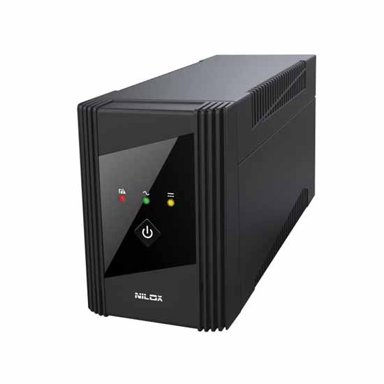 NILOX UPS Line Interactive VALUE AVR 600VA/300W - 17NXGCLI39001