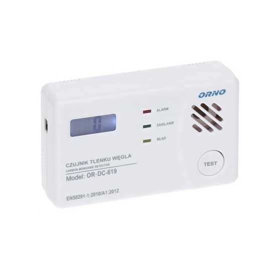 Carbon Monoxide (CO) detector Acoustic buzzer 85 dB + LED