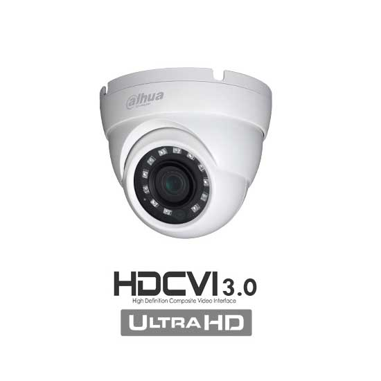 Camera Dome HDCVI 3.0 HD+ 4Mpx 3.6mm IP67 HAC-HDW2401M