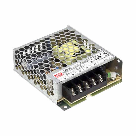 36W 12Vdc 3A Single Output Switching Power Supply LRS-35-12