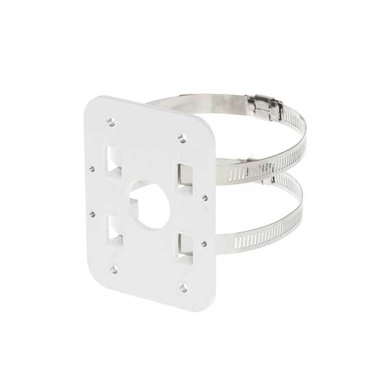 Pole Mount White Metal for CCTV DAHUA PFA152