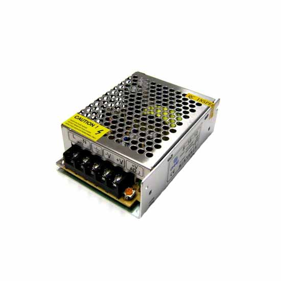 Switching Power Supply 12V 2A stabilized trimmerabile