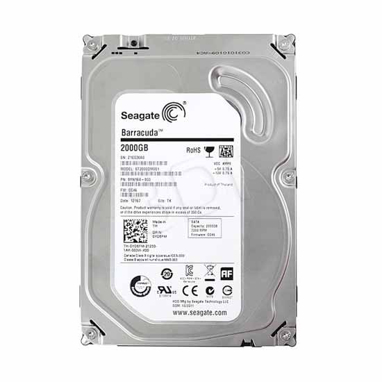 "Hard disk 3,5"" 2TB 64MB SATA3 Seagate ST2000DM001 Barracuda"