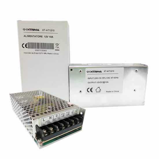 10A 12V switching power supply stabilized Ixtrima XT-AT1210