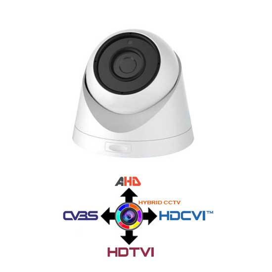 Motozoom Dome CCTV 2.8-12mm 4IN1 HYUNDAI 2.4Mpx HD@1080p