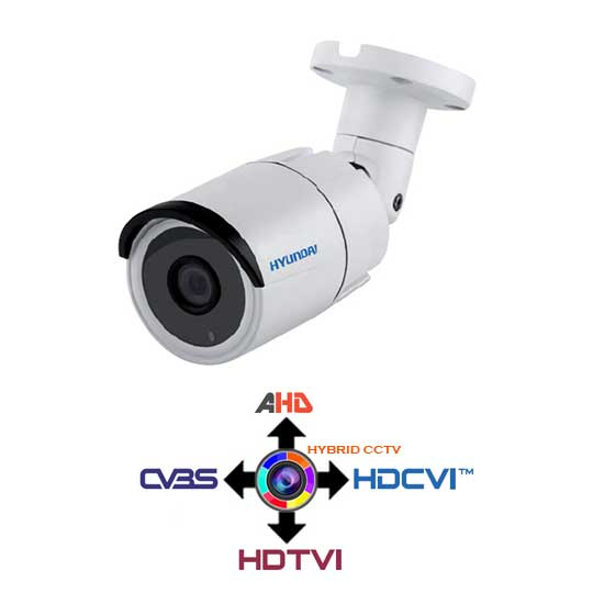 Bullet Camera CCTV 2.8mm HYUNDAI 4IN1 Hybrid 3Mpx HD@1536p