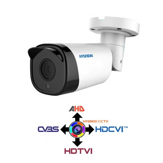 Bullet Camera CCTV 2.8-12mm HYUNDAI 4IN1 IBRIDA 3Mpx HD@1536p