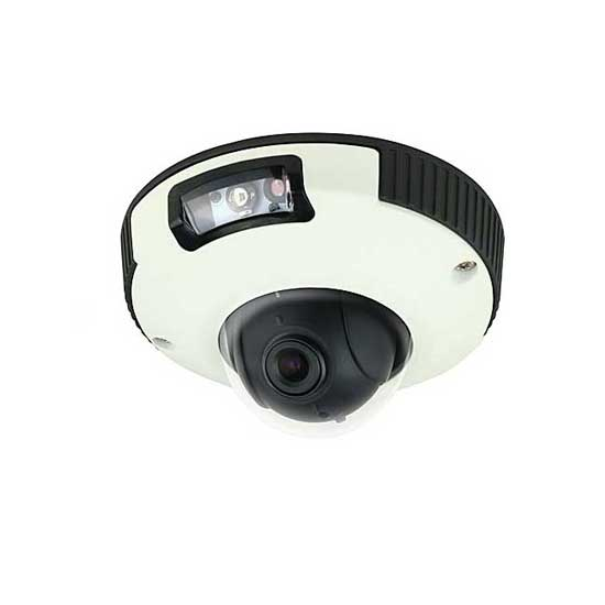 Camera IP Mini Dome HD 1080p 3.6mm 2Mp IK10 Audio WDR PoE