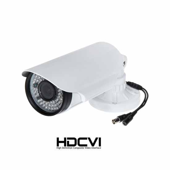 HDCVI 1080p HD Bullet Camera IR LED 2.8-12mm 60Mt 2Mpx