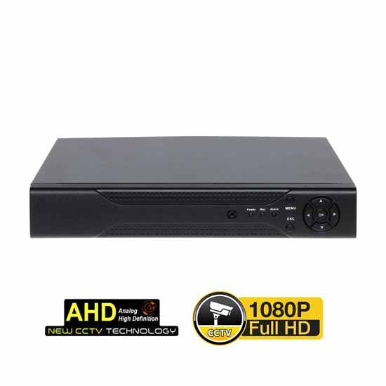 DVR TRIPLEX 8CH 960H - AHD 1080p - IP Rec & Live FULL HD Web