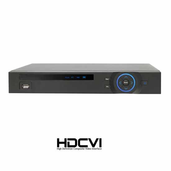 HDCVI FULL HD 8-Kanal-DVR - 8-Kanal @ 720p REC VGA / HDMI-Mini-1