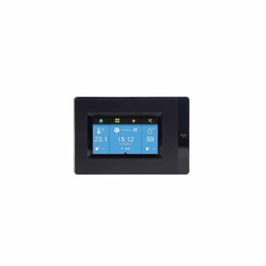 Multizone terminal à écran tactile - Noir Bpt TH/PLUS BK