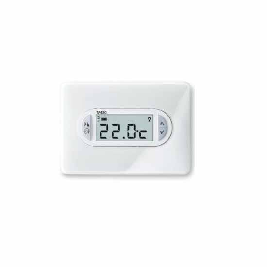 Digital wall-mount thermostat White Bpt TA/450