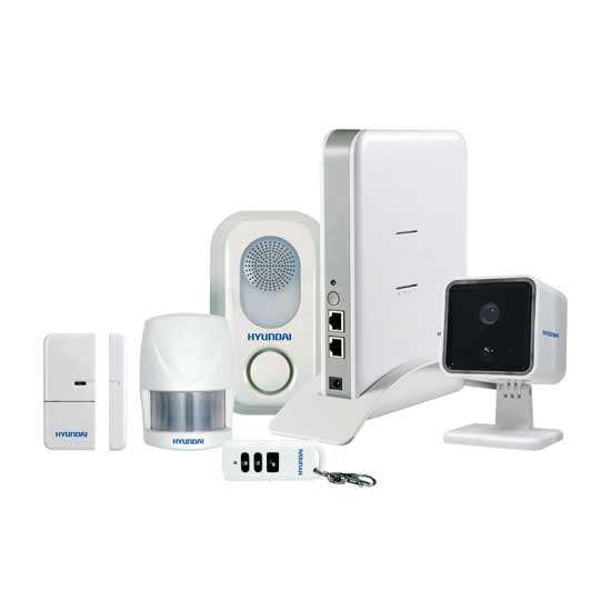 Kit Smart4Home Hyundai Cloud sistema di allarme Wireless + Accessori