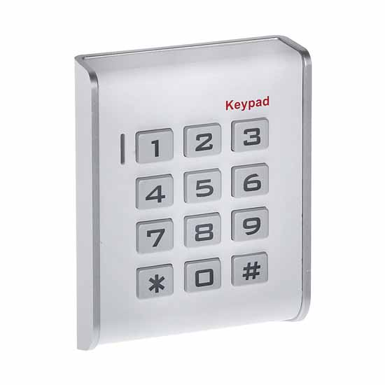 Standalone Keypad Access Control 12V key lock with RFID reader - W