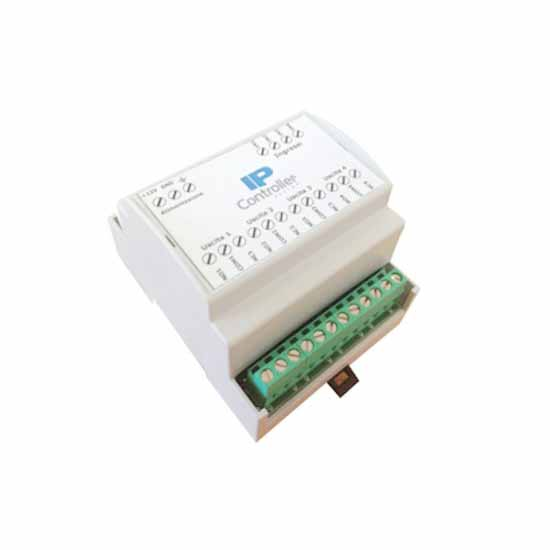 Module 4 relays in DIN rail box IPC-3504