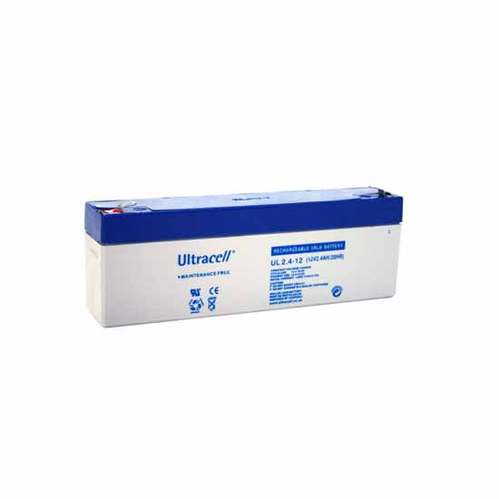 Rechargeable lead battery 12V 2.4 Ah Ultracell European