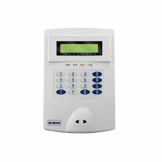 LCD keypads for intruder alarm control units Brahms PXKWD