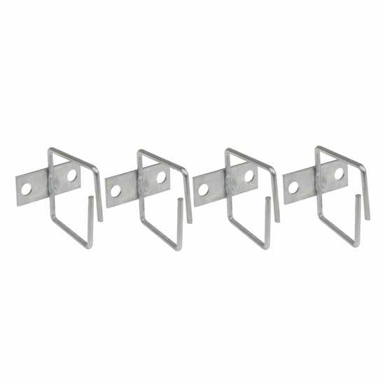 Cable manager 40x40mm Steel for Rack Cabinet - 4pcs
