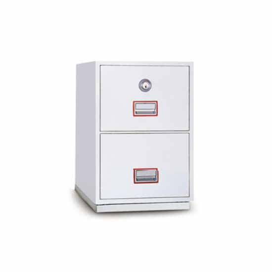 Fireproof filing cabinets cylinder lock Technosafe DFC