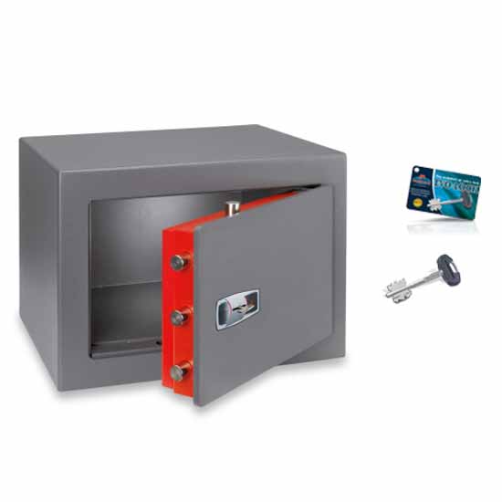 Fireproof Free standing safes double-bitted key Technofire DPK