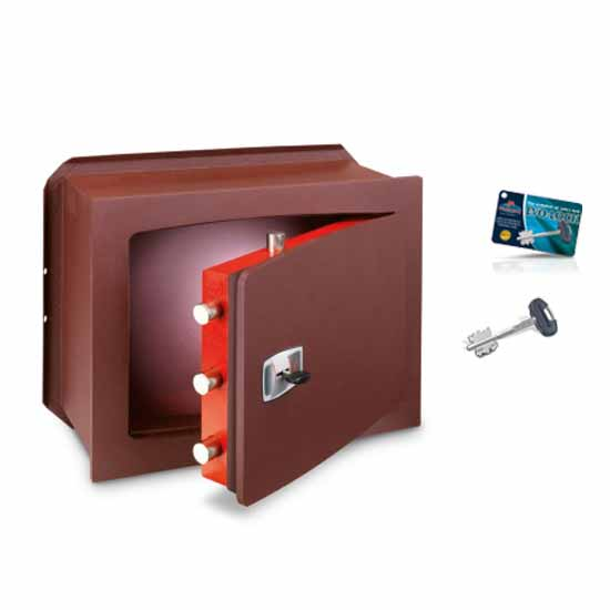 Wall safes manganese protection double-bitted key Unica Key