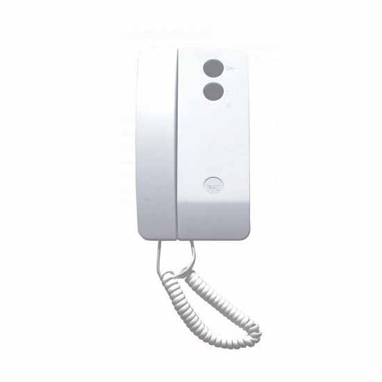 Audio receiver with handset white AGATA C HANDSET
