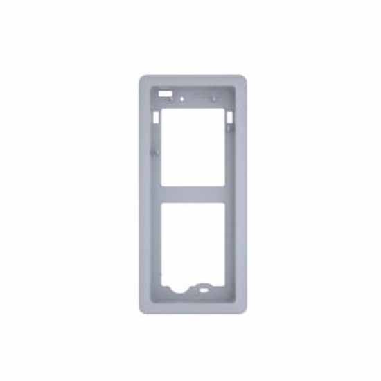 Frame for recessed installation in plastic with brushed chrome Bpt DCI