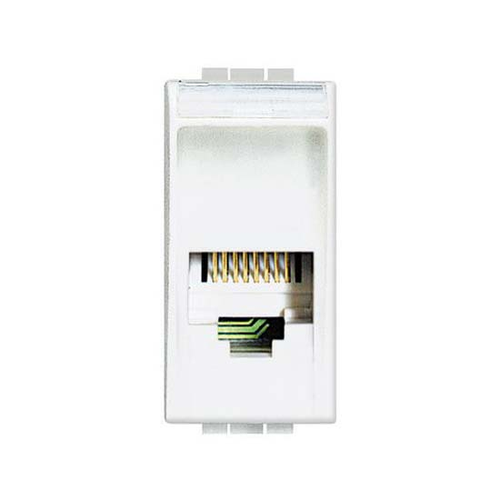 Connettore Telefonico RJ11 K10 - Bianci N4258/11N Bticino Living•Light
