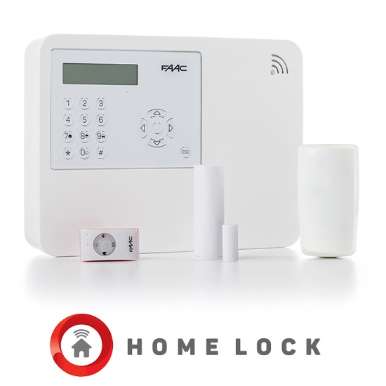 Kit d'alarme sans fil Wireless HOME lock FAAC HL KIT GSM