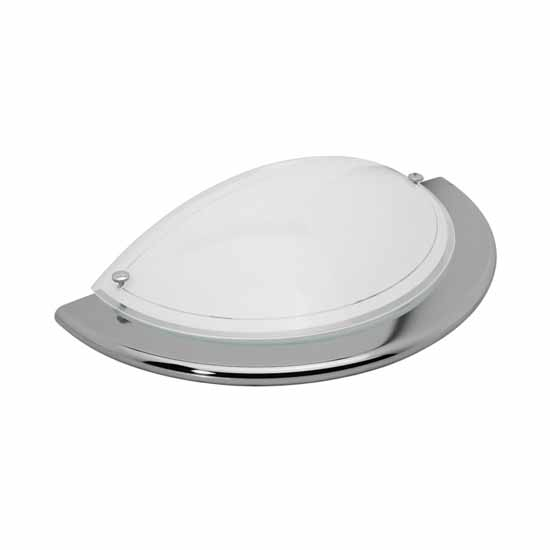 Ceiling light fitting IP20 Holder E27 ARDEA 1030 1/2G/ML-SR