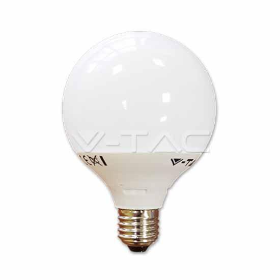 lampadina luce naturale : Lampadina globo LED termoplastica 10W E27 G95 luce B naturale