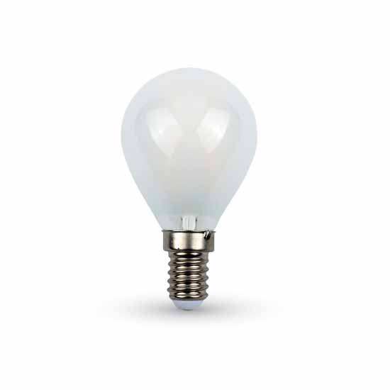 LED Bulb 4W Filament P45 Frost Cover P45 6400K 300° 400LM