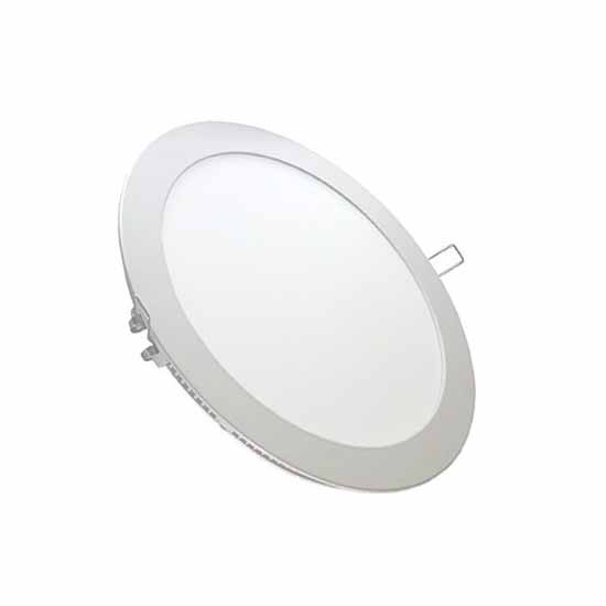 24W LED Panneau SMD Downlight rond 3000K 110° 2000LM + Driver