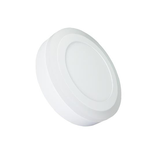 18W+3W TWINLED Surface Panel - Round 120° 2.200LM White 4000K