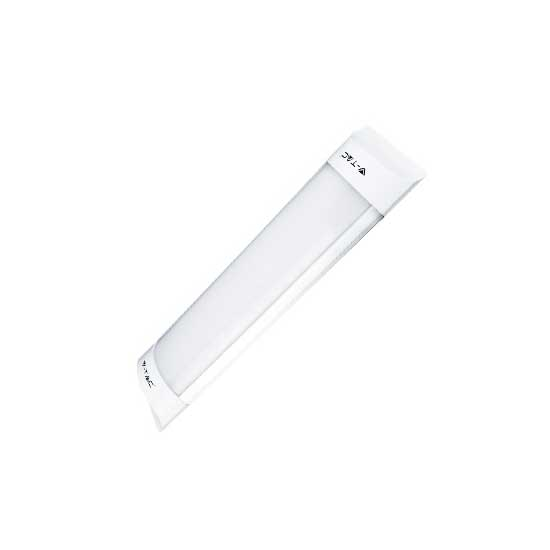 10W Prismatic Fitting with LED Tube SLIM 110° 3000K 800LM 30CM