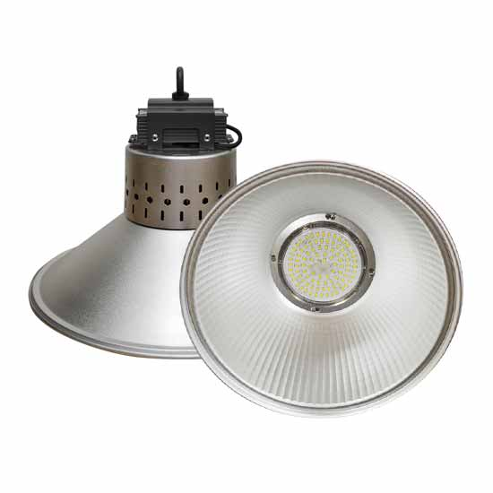 Lampes industrielles LED 50W LED High Bay SMD Blanc 6000K
