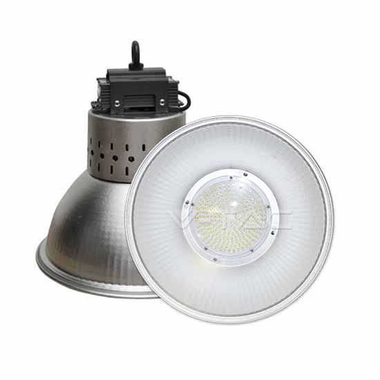 Lampes LED 100W LED High Bay Haute Lumens 12000LM 4500K