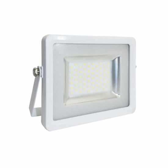 Projecteur LED 50W SMD Blanc 6000K 100° IP65 - Blanc