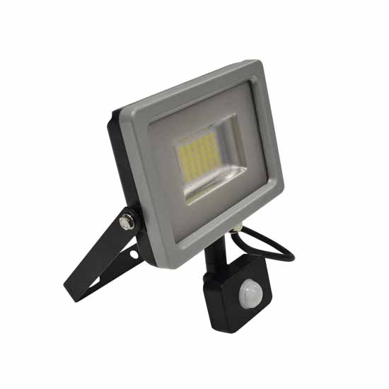 20W Projecteur LED Sensor Corps SMD Blanc naturel 4500K - G&B