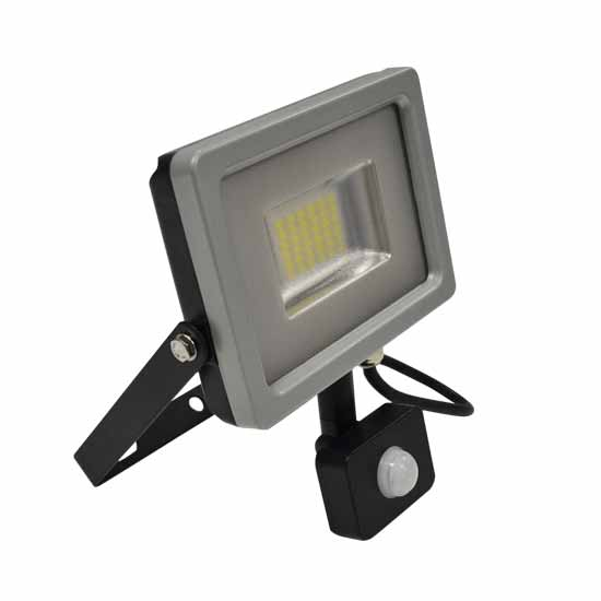 30W Projecteur LED Sensor Corps SMD Blanc naturel 4500K - G&B