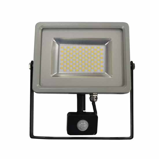 50W Projecteur LED Sensor Corps SMD Blanc naturel 4500K - G&B