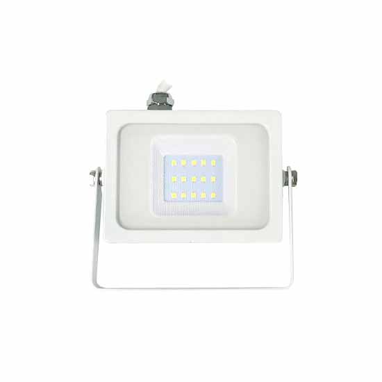 Projecteur LED 10W SMD 4000K 100° 800LM IP65 SMD - Blanc