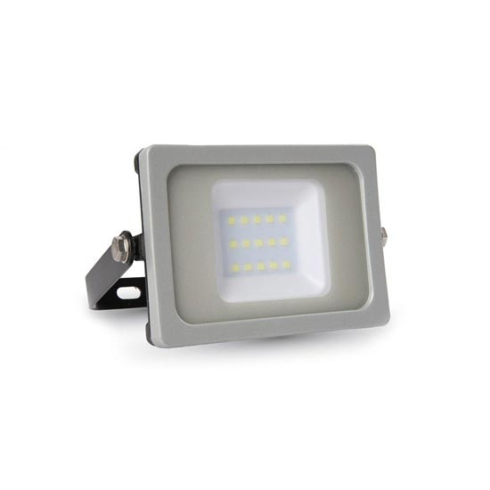Faro LED SLIM G&B Lucido 10W 6400K 100° 800LM IP65 SMD A+